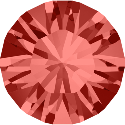 1028 - PP3 (1.00 – 1.10mm) - Padparadscha F (542) - Xilion Chaton Round Stone