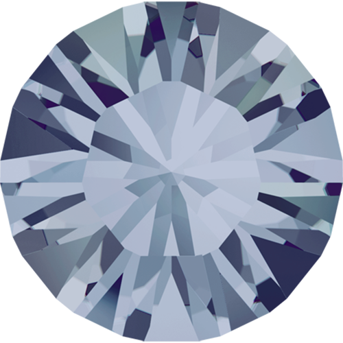 1028 - PP10 (1.60 – 1.70mm) - Crystal Blue Shade F (001 BLSH) - Xilion Chaton Round Stone
