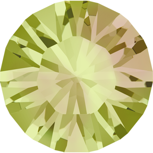 1028 - PP10 (1.60 – 1.70mm) - Crystal Luminous Green F (001 LUMG) - Xilion Chaton Round Stone