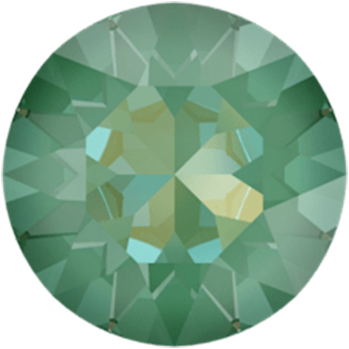 1088 - SS39 (8.16 – 8.41mm) - Crystal Silky Sage DeLite (001 L147D) - Xirius Chaton Round Stone
