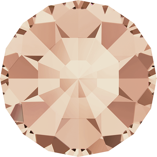 1100 - PP1 (0.80 – 0.90mm) - Light Peach F (362) - Xero Chaton Round Stone