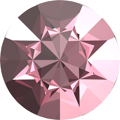 1185 - PP22 (2.80 – 2.90mm) - Light Rose (223) - Pointed Chaton Round Stone