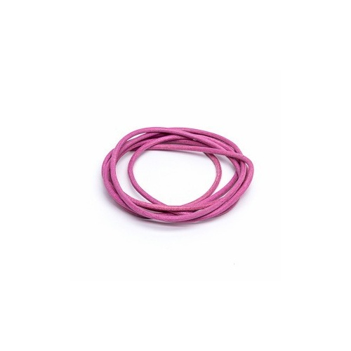 Pink 2mm Leather Cord - 1m Pack