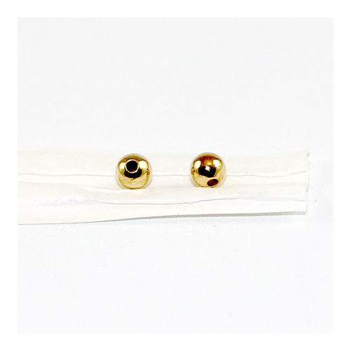 4mm Metal Ball - Gold