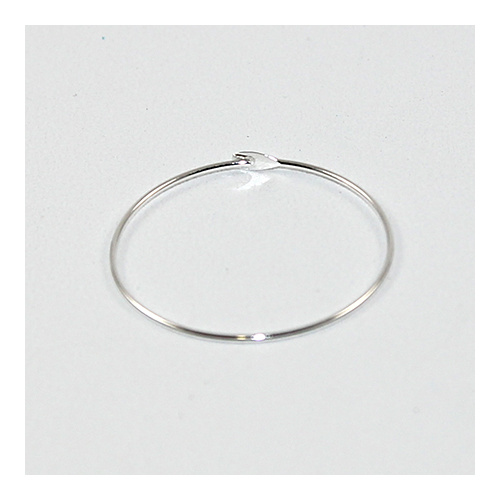 25mm Wine Glass Hoop - Silver
