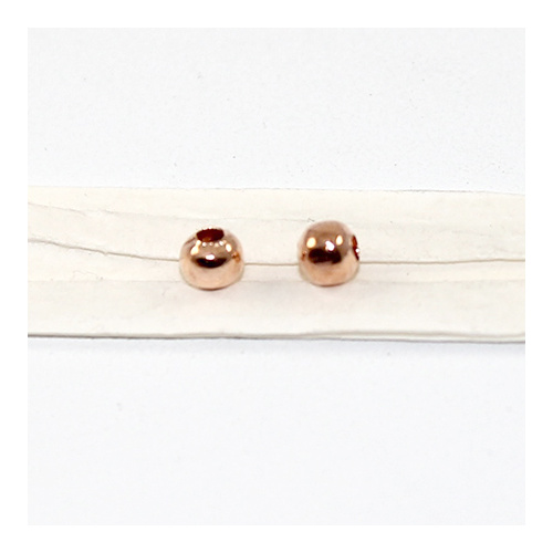 4mm Metal Ball - Rose Gold Plated