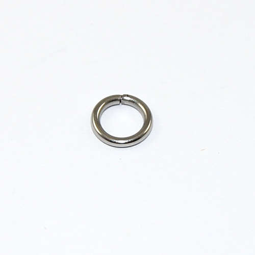 6mm Stainless Steel Jump Rings - Stainless Steel