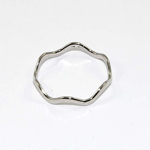 19mm Circle Ring - Antique Silver