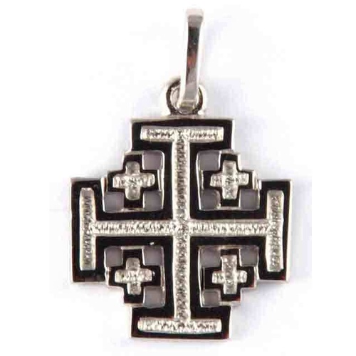 Crosses & Crucifixes - Cross - 16mm x 16mm - Sterling Silver