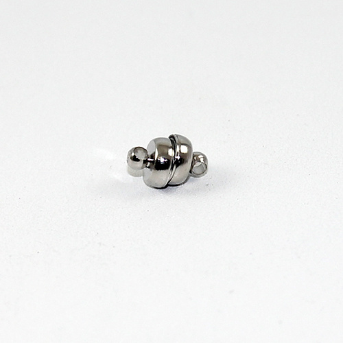 7mm Oval Magnet - Platinum