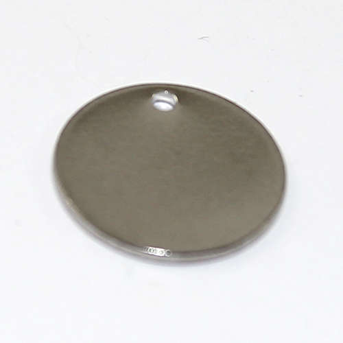 15mm Blank Stamping Tag - Stainless Steel