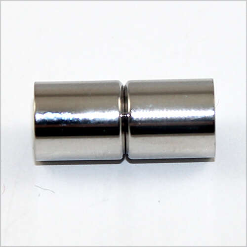 8mm Glue in Barrel Single Strand Magnet - Stainless Steel