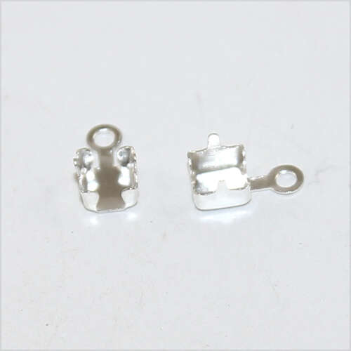 3mm Cupchain Connector - Silver