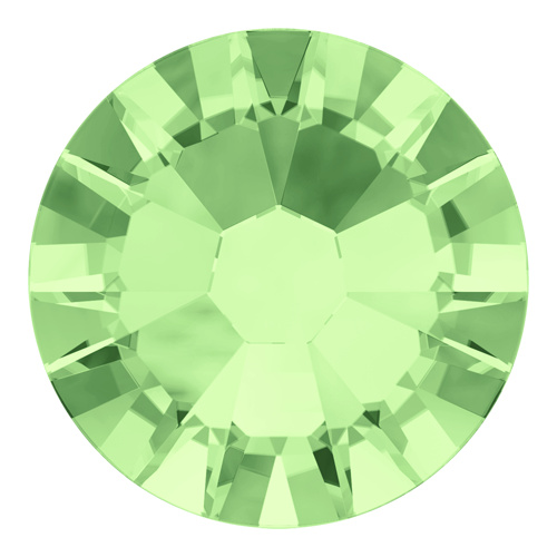 2058 - SS5 (1.70 - 1.90mm) - Chrysolite F (238) - Xilion Rose No Hot Fix Flat Back Crystal