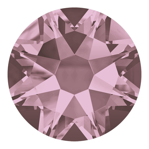 2088 - SS12 (3.00 - 3.20mm) - Crystal Antique Pink F (001 ANTP) - Xirius Rose Non Hot Fix Flat Back Crystal