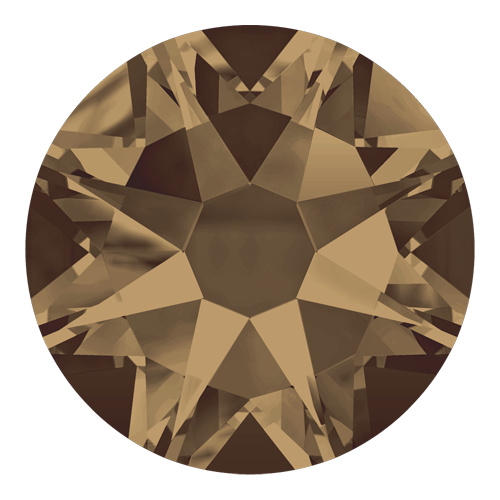 2088 - SS12 (3.00 - 3.20mm) - Crystal Bronze Shade F (001 BRSH) - Xirius Rose Non Hot Fix Flat Back Crystal