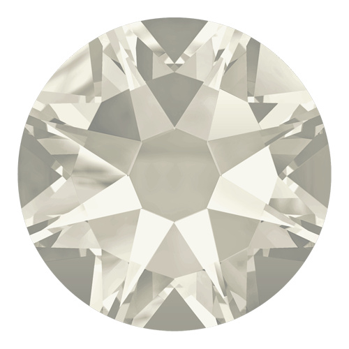 2088 - SS12 (3.00 - 3.20mm) - Crystal Silver Shade F (001 SSHA) - Xirius Rose Non Hot Fix Flat Back Crystal