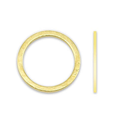 12mm Round Quick Links - Gold Plated - 314A-310