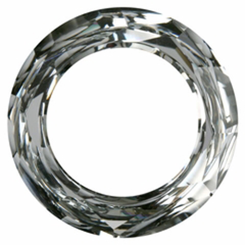 4139 - 30mm - Crystal CAL V SI (001 CAVSI) - Round Cosmic Crystal Ring