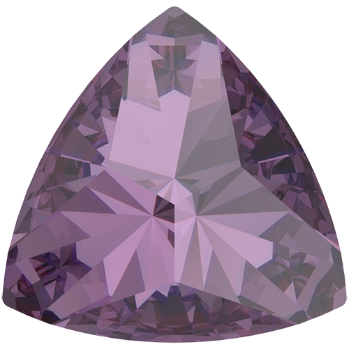 4799 - 6mm x 6.1mm - Amethyst F (204) - Kaleidoscope Triangle Fancy Stone
