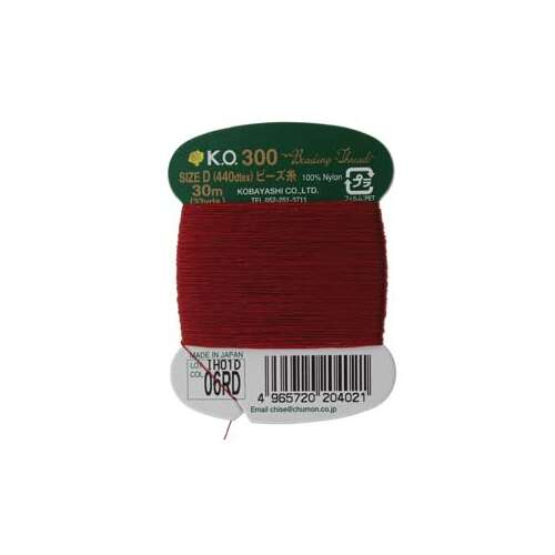 KO Thread Red - 440dtex - 33 Yard - KODRDC