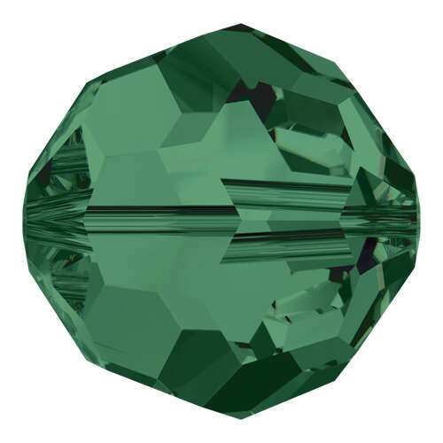 5000 - 3mm - Emerald (205) - Round Crystal Bead