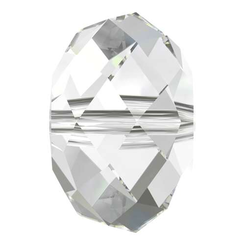 5040 - 4mm - Crystal (001) - Briolette Crystal Bead
