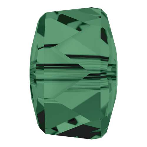5045 - 8mm - Emerald (205)  - Rondelle Crystal Bead