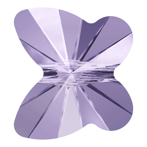 5754 - 8mm - Violet (371) - Butterfly Crystal Bead