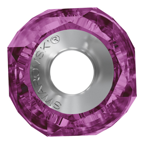 5928 - 14mm Steel - Fuchsia (502) - BeCharmed Helix Bead