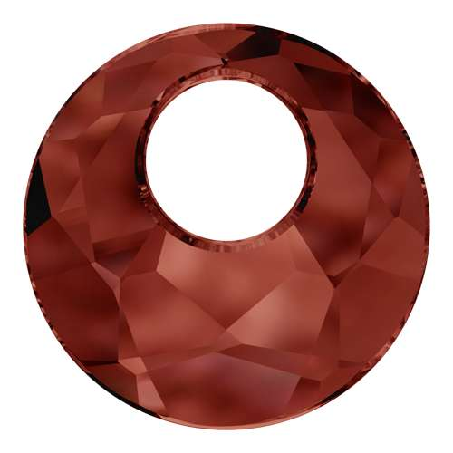 6041 - 28mm - Crystal Red Magma (001 REDM) - Victory Crystal Pendant