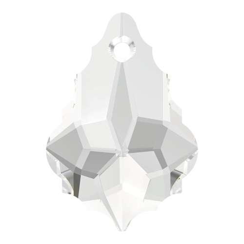 Swarovski Crystal Topaz 16mm Baroque 6090 Pendant; CLEARANCE; LAST TWO