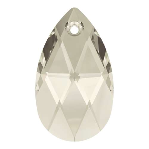 6106 - 16mm - Crystal Silver Shade (001 SSHA) - Pear Crystal Pendant