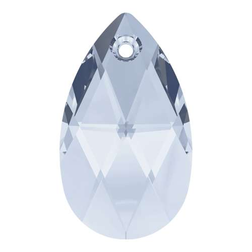 6106 - 22mm - Crystal Blue Shade (001 BLSH) - Pear Crystal Pendant