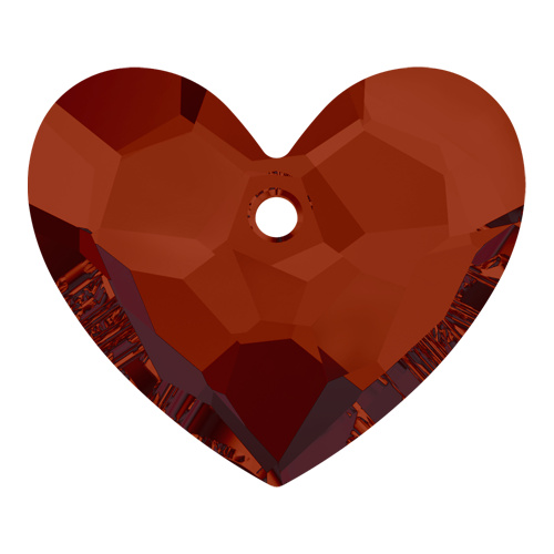 6264 - 18mm - Crystal Red Magma (001 REDM) - Truly in Love Heart - Designer Edition