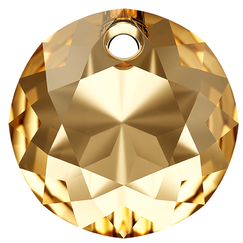 6430 - 14mm - Crystal Golden Shadow (001 GSHA) - Classic Cut Pendant