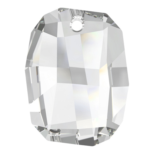 6685 - 28mm - Crystal (001) - Graphic Crystal Pendant