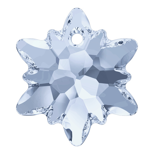 6748 - 14mm - Crystal Blue Shade (001 BLSH) - Edelweiss Crystal Pendant