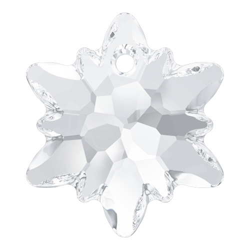 6748 - 18mm - Crystal (001) - Edelweiss Crystal Pendant