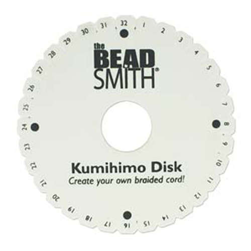 Kumihimo 6 Inch Round Disc - KD604