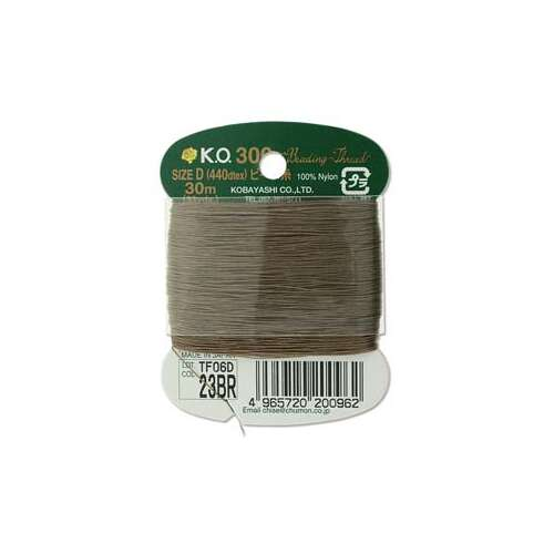 KO Thread Brown - 440dtex - 33 Yard - KODBRC
