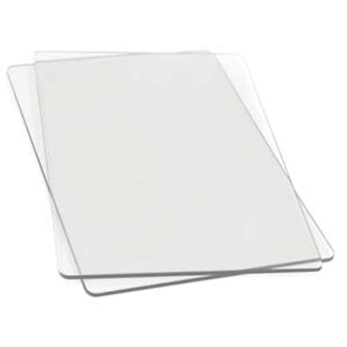 Sizzix Cutting Pads - Standard - 1 Pair - Clear