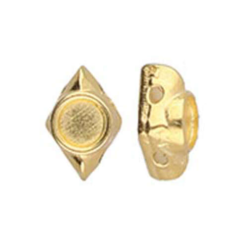 Areti - Gemduo Bead Substitute - 24K Gold Plate - CYM-GD-012048-GP