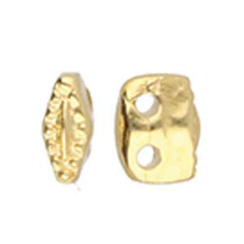 Varidi - Superduo Bead Substitute - 24K Gold Plate - CYM-SD-01226-GP
