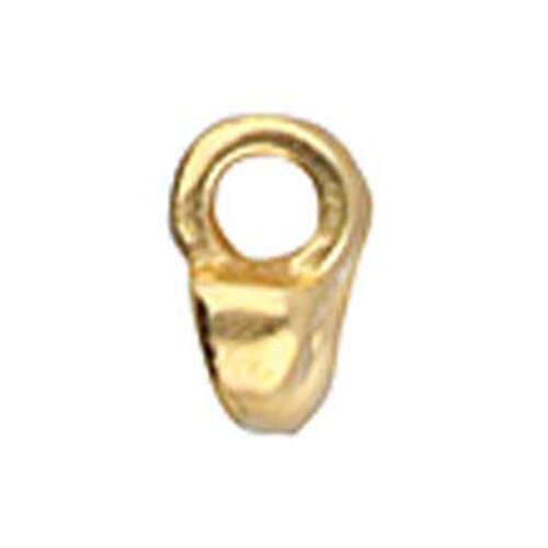 Remata - Superduo Bead Ending - 24K Gold Plate - CYM-SD-012051-GP