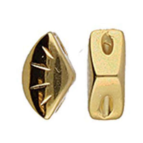 Polonia - Gemduo Side Bead - 24K Gold Plate - CYM-GD-012217-GP