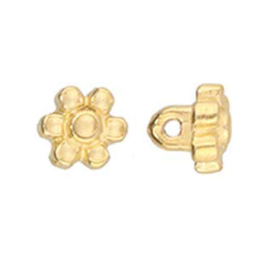 Amoudi - 8/0 Bead Substitute - 24K Gold Plate - CYM-M80-012490-GP