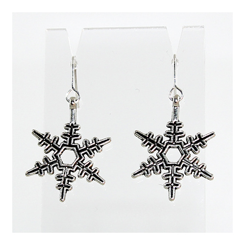 Snowflake  Earrings 4