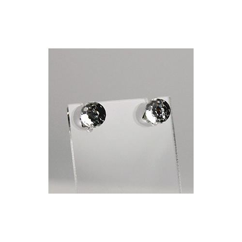 Swarovski Disco Ball Stud Earrings - Crystal CAL