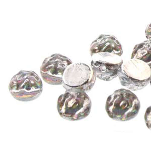 7mm Baroque Cabochon 2 Hole - Backlit Spectrum - CCB0700030-29436
